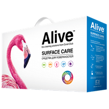 Alive Коллекция средств для поверхностей Alive Assorted household cleaning products